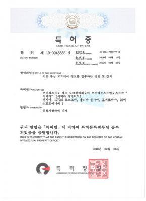 Korean patent